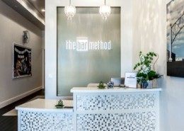 front desk at The Bar Method Fresno
