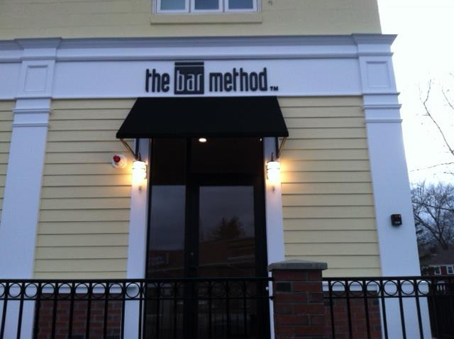 Front Entrance At The Bar Method Hingham barre studio