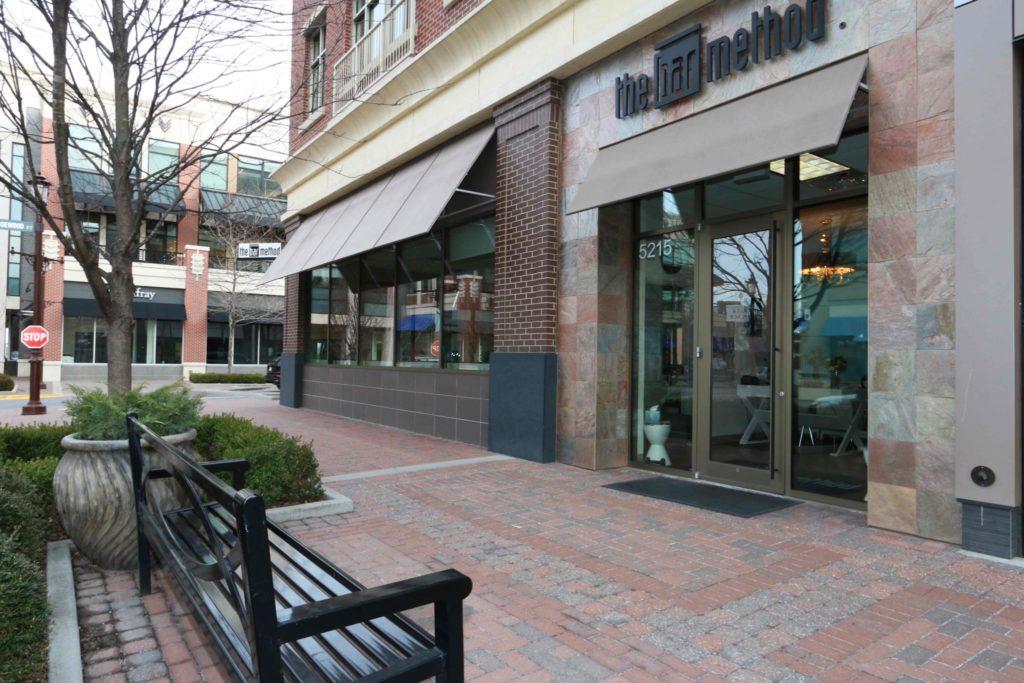 Front Entrance at The Bar Method Kansas City