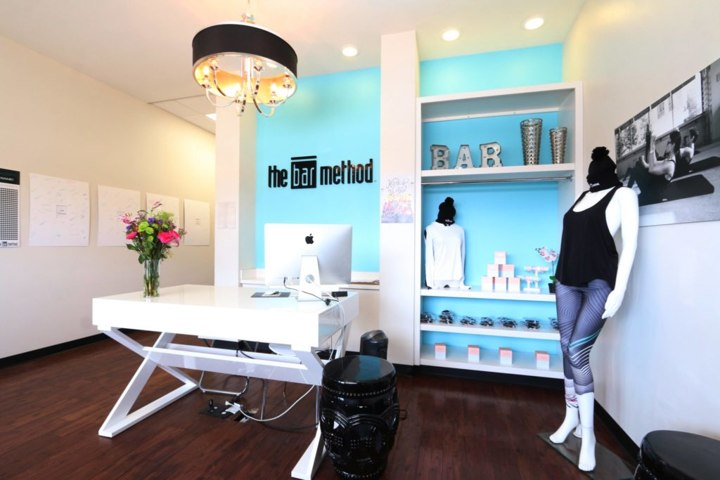 Barre retail at The Bar Method Kansas City West Plaza