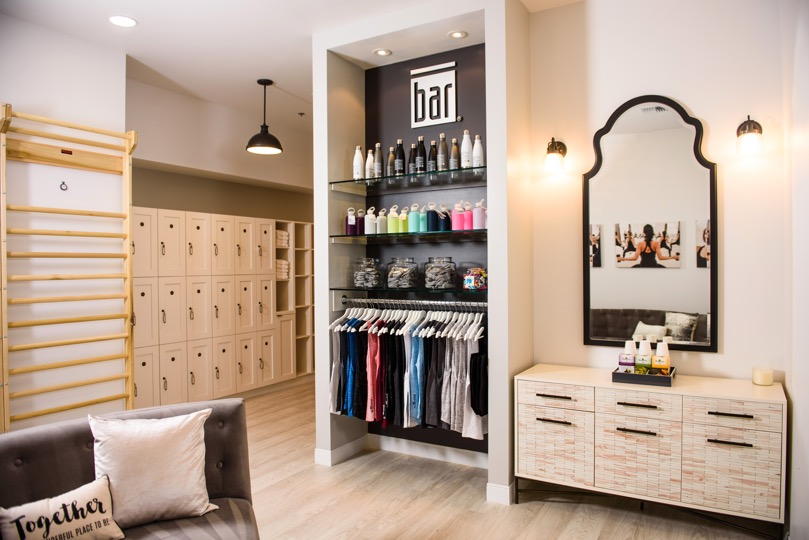 Barre retail at The Bar Method Lake Oswego
