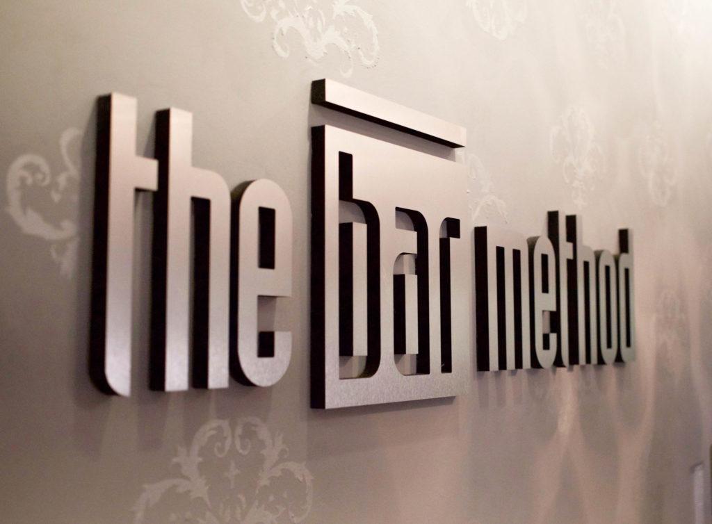 Bar Method Logo at The Bar Method Montclair