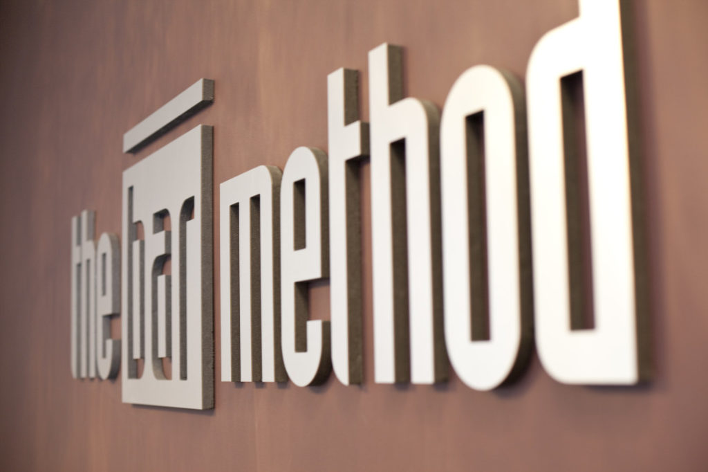 The Bar Method Logo at Naperville