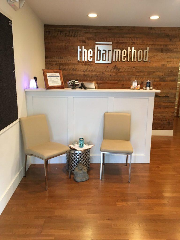 Main lobby at The Bar Method Princeton