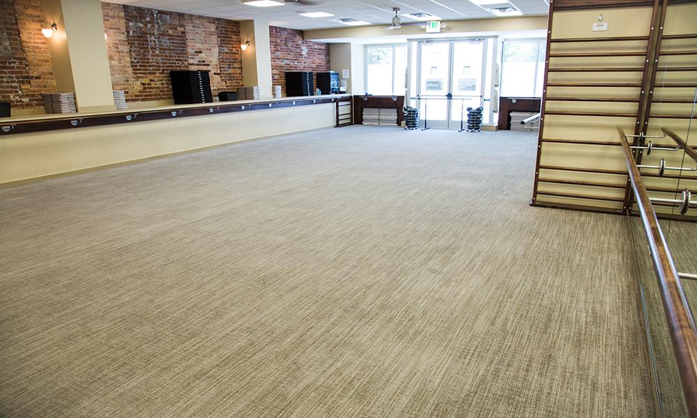 barre studio at The Bar Method Salt Lake City