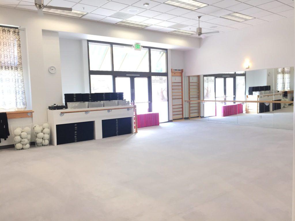 barre studio at The Bar Method Santa Clara