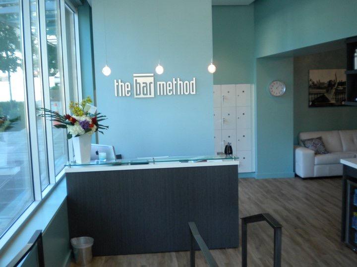 Front desk at The Bar Method Seattle
