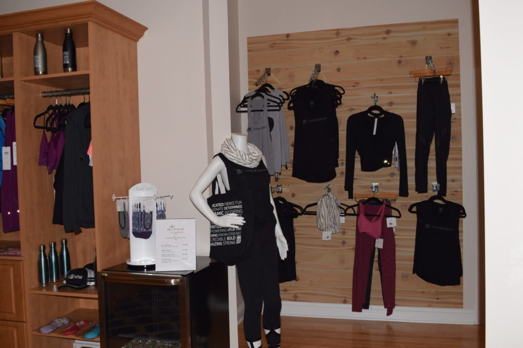 barre apparel at The Bar Method Shrewsbury
