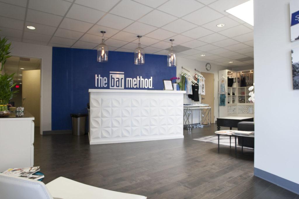 Main Lobby at The Bar Method Silver Lake