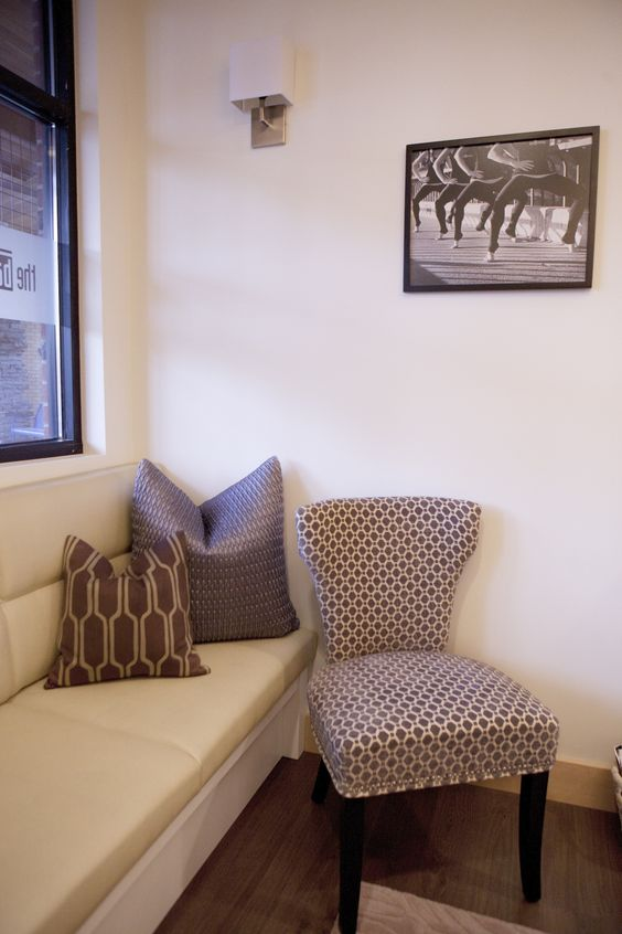 Sitting area at The Bar Method Spokane