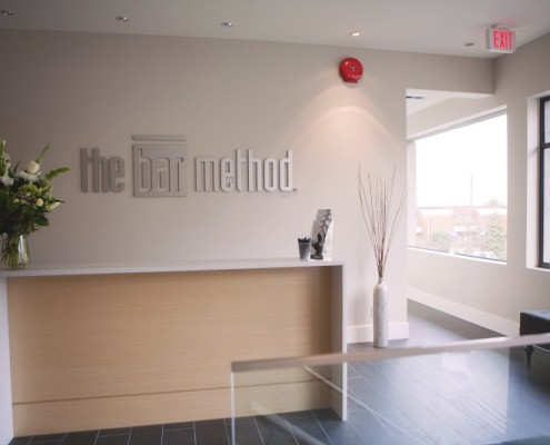 The Bar Method West Vancouver Marine Drive barre class studio reception
