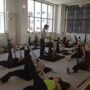 barre studio at The Bar Method St. Louis