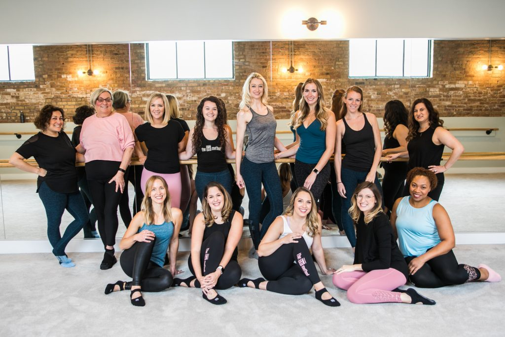 Instructors at the Bar Method in Chicago South Loop Barre Studio