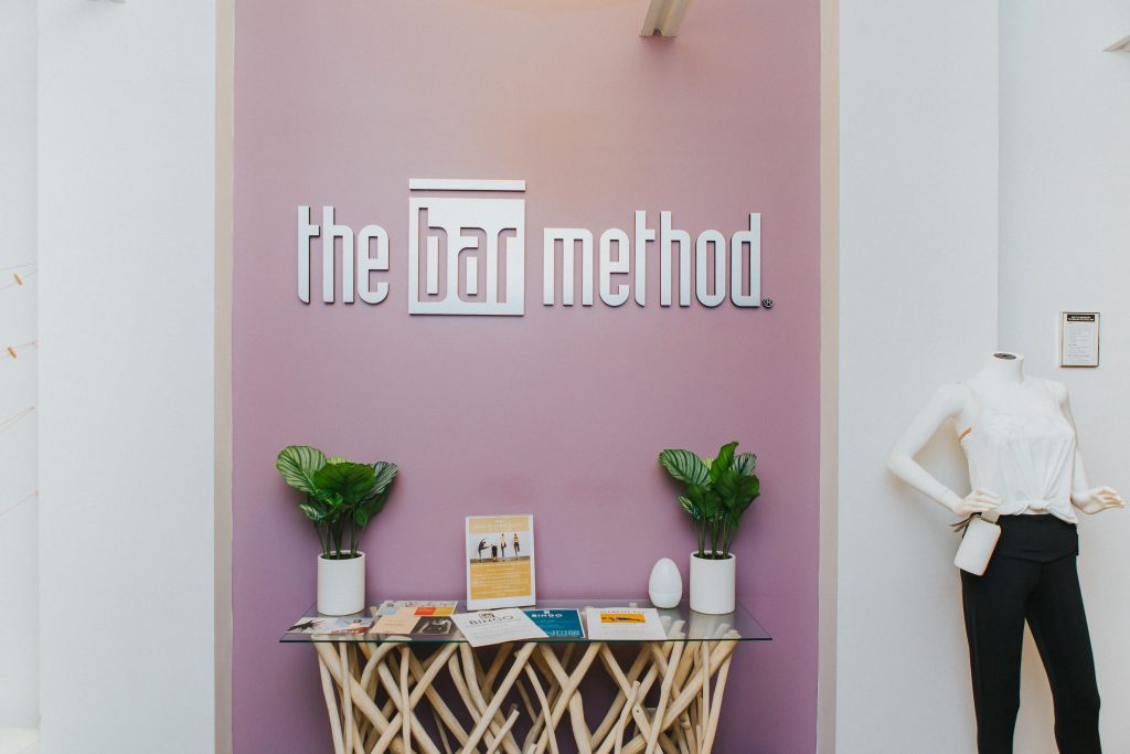 Entryway at the Bar Method in Cherry Creek
