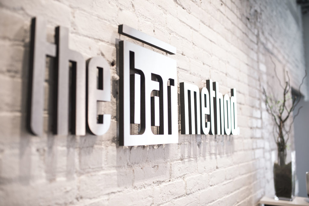 Bar method logo at The Bar Method Williamsburg