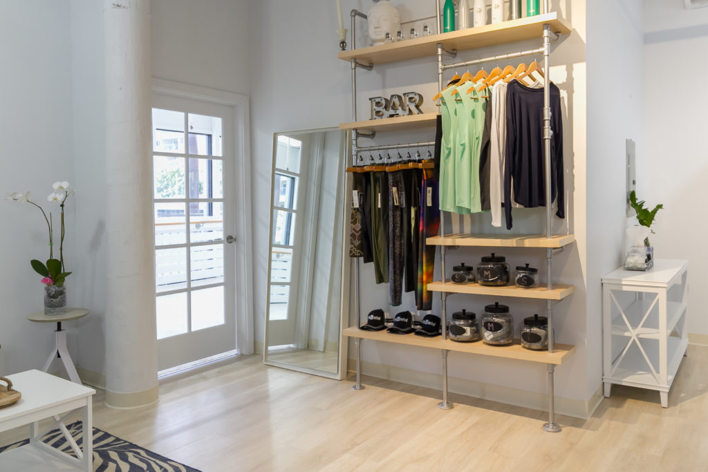 Barre retail at The Bar Method Kailua