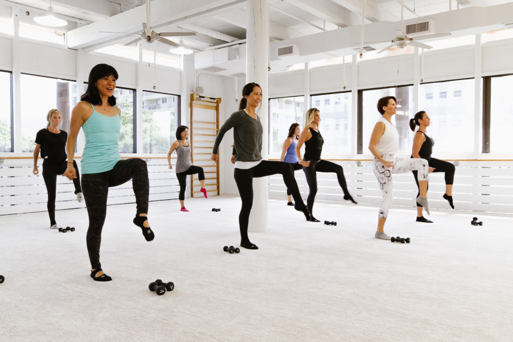 Barre Class at The Bar Method Kailua