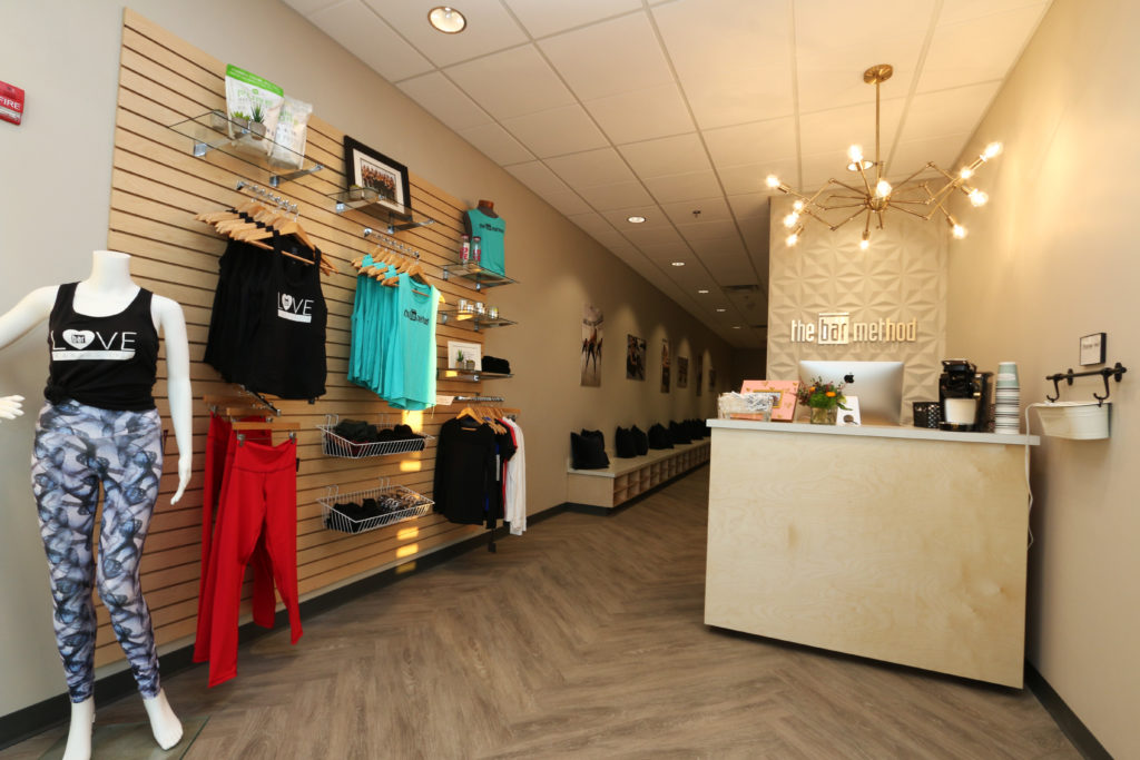 Barre Retail at The Bar Method Kansas City Overland Park