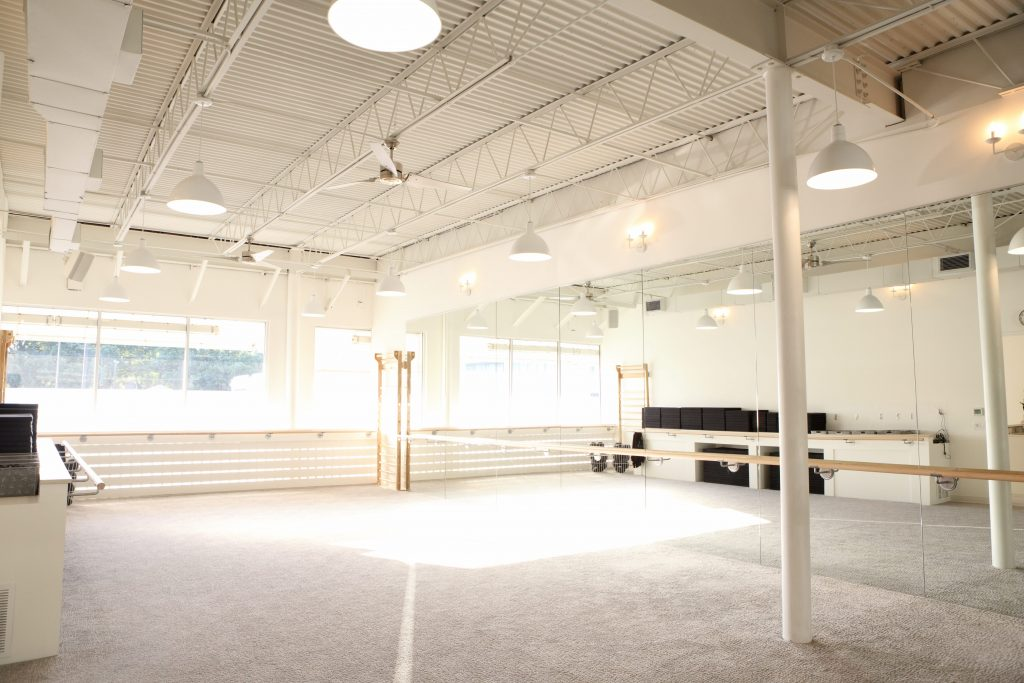 Barre studio at the Bar Method in White Rock Lake Dallas