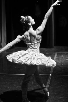 Misty Copeland's back muscles