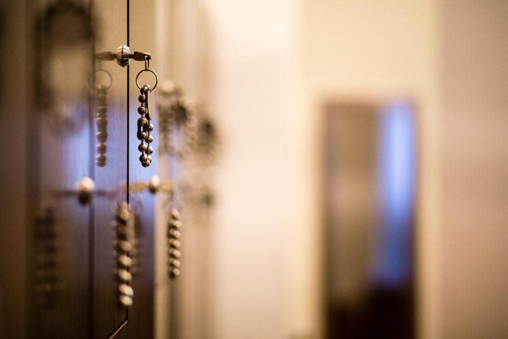 Locker Room at The Bar Method Montclair