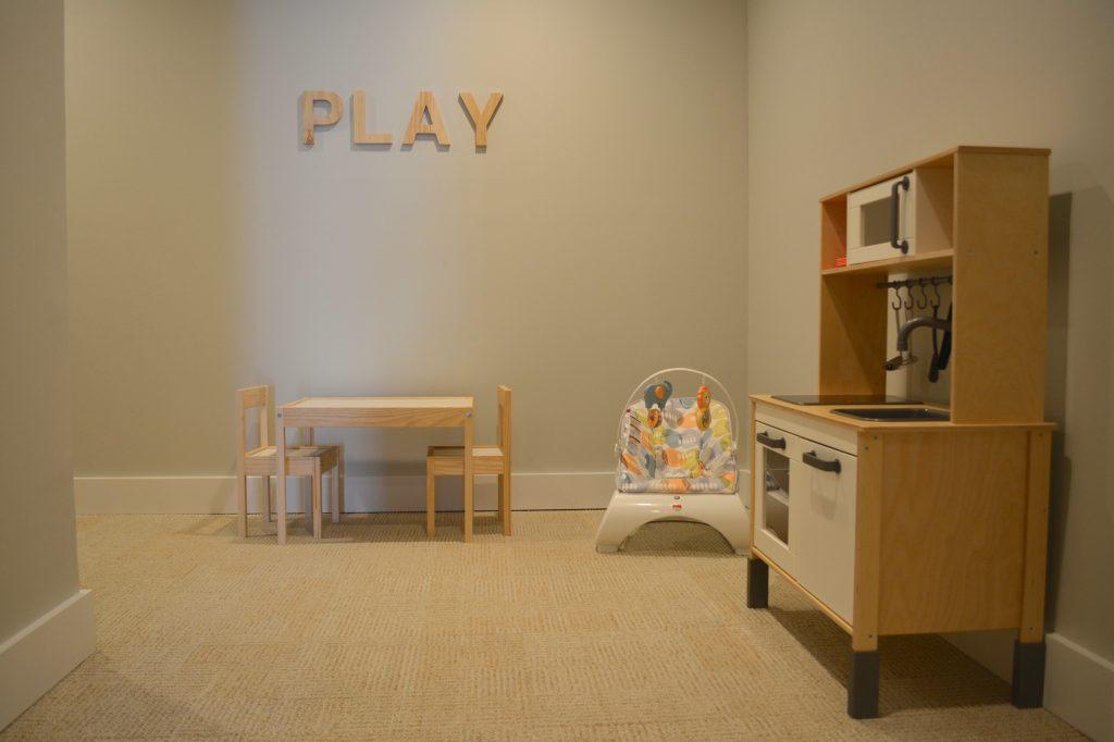 Childcare at The Bar Method Huntington Village barre studio