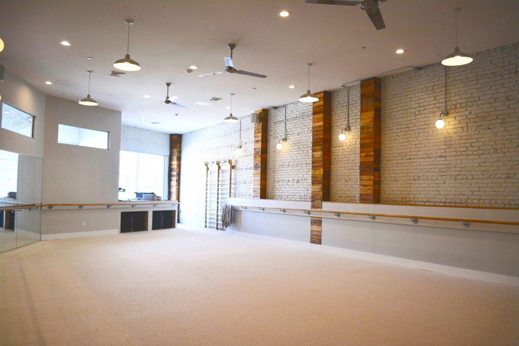 Barre studio at The Bar Method Huntington Village