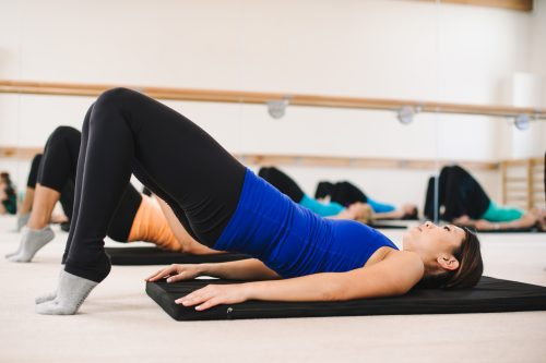 bar method glutes exercise