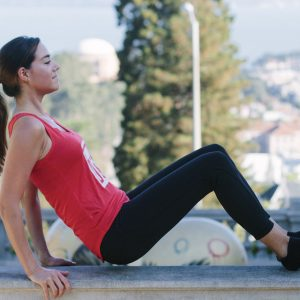 outside or at-home barre workout