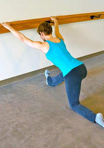 Bar Method | Thigh Stretch